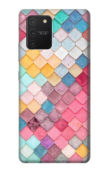 Printed Candy Minimal Pastel Colors Samsung Galaxy S10 Lite Case