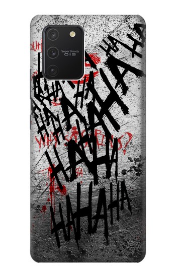 Printed Joker Hahaha Blood Splash Samsung Galaxy S10 Lite Case