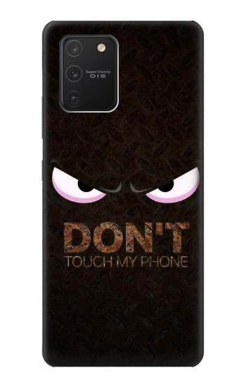 Printed Do Not Touch My Phone Samsung Galaxy S10 Lite Case
