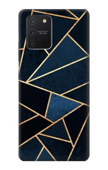 Printed Navy Blue Graphic Art Samsung Galaxy S10 Lite Case