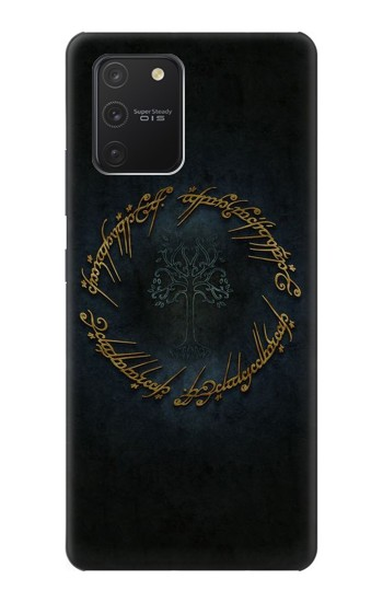 Printed Lord of The Rings Ring Elf Writing Samsung Galaxy S10 Lite Case