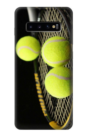 Printed Tennis Samsung  Galaxy S10 Plus Case