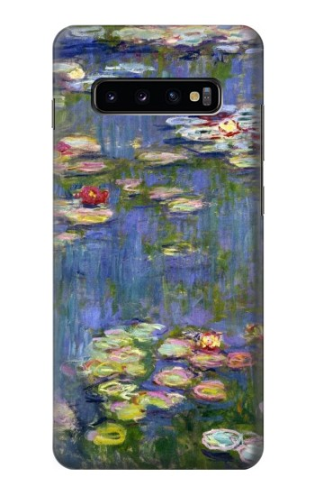 Printed Claude Monet Water Lilies Samsung  Galaxy S10 Plus Case