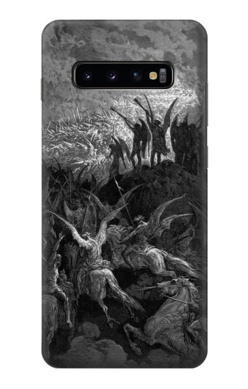Printed Gustave Dore Paradise Lost Samsung  Galaxy S10 Plus Case