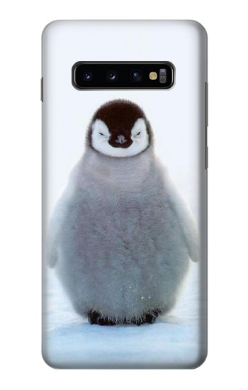 Printed Penguin Ice Samsung  Galaxy S10 Plus Case