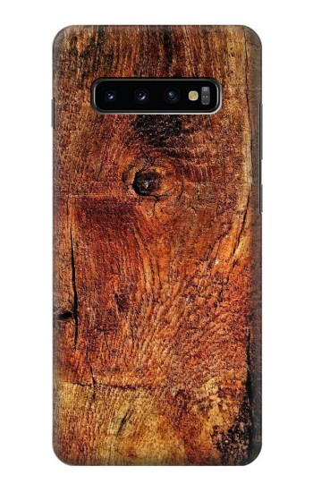 Printed Wood Skin Graphic Samsung  Galaxy S10 Plus Case