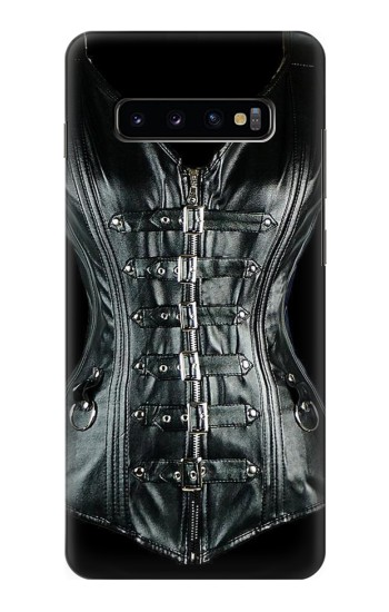 Printed Gothic Corset Black Samsung  Galaxy S10 Plus Case