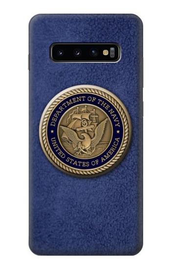 Printed US Navy Samsung  Galaxy S10 Plus Case