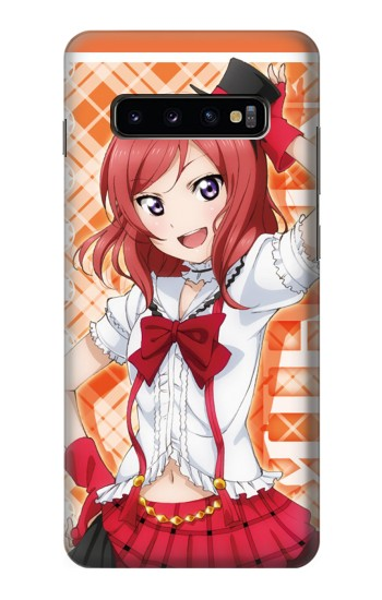 Printed Love Live Nishikino Maki Samsung  Galaxy S10 Plus Case