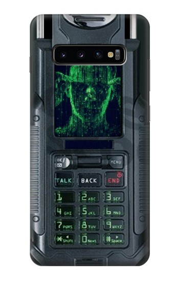 Printed The Matrix Mobile Phone Graphic Printed Samsung  Galaxy S10 Plus Case