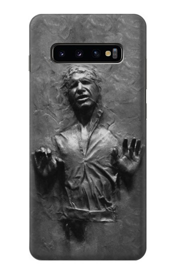 Printed Han Solo Frozen in Carbonite Samsung  Galaxy S10 Plus Case