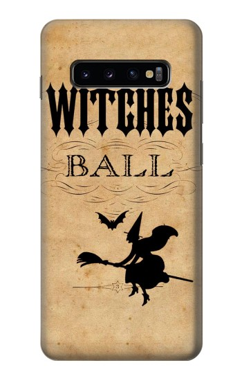 Printed Vintage Halloween The Witches Ball Samsung  Galaxy S10 Plus Case