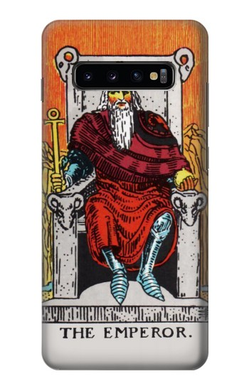 Printed Tarot Card The Emperor Samsung  Galaxy S10 Plus Case