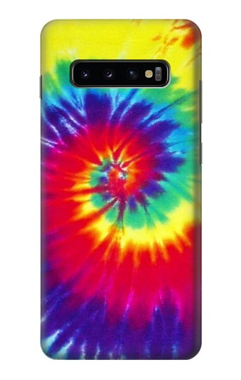 Printed Tie Dye Fabric Color Samsung  Galaxy S10 Plus Case