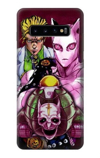 Printed Jojo Bizarre Adventure Kira Yoshikage Killer Queen Samsung  Galaxy S10 Plus Case
