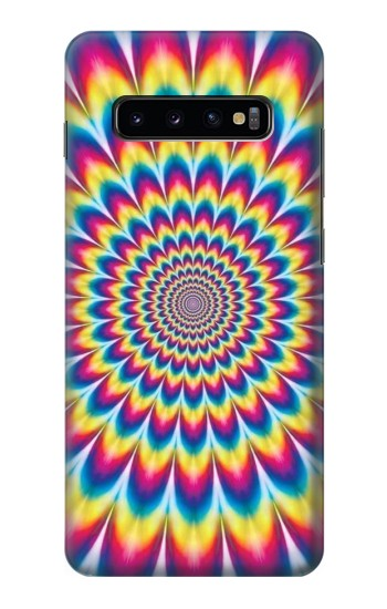 Printed Colorful Psychedelic Samsung  Galaxy S10 Plus Case