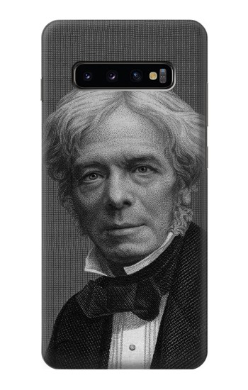 Printed Michael Faraday Samsung  Galaxy S10 Plus Case