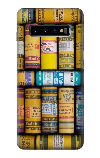 Printed MM Film Camera Samsung  Galaxy S10 Plus Case