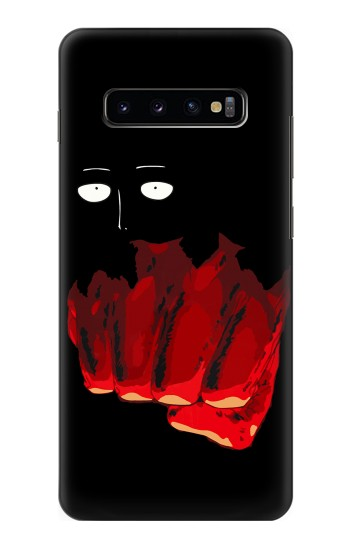 Printed One Punch Man Fight Samsung  Galaxy S10 Plus Case