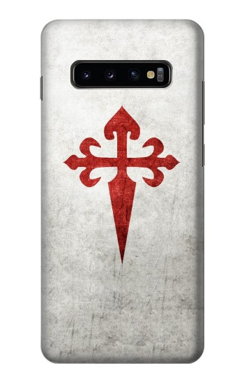 Printed Order of Santiago Cross of Saint James Samsung  Galaxy S10 Plus Case