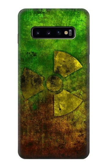 Printed Radioactive Symbol Samsung  Galaxy S10 Plus Case