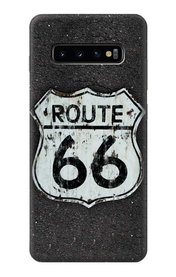 Printed Route 66 Sign Samsung  Galaxy S10 Plus Case