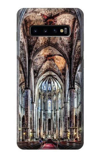 Printed Santa Maria Del Mar Cathedral Samsung  Galaxy S10 Plus Case