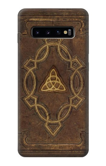 Printed Spell Book Cover Samsung  Galaxy S10 Plus Case