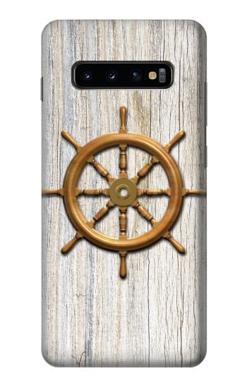 Printed Steering Wheel Ship Samsung  Galaxy S10 Plus Case