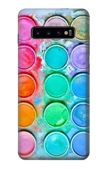 Printed Watercolor Mixing Samsung  Galaxy S10 Plus Case