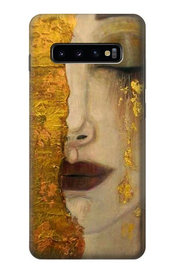 Printed Gustav Klimt Golden Tears Samsung  Galaxy S10 Plus Case