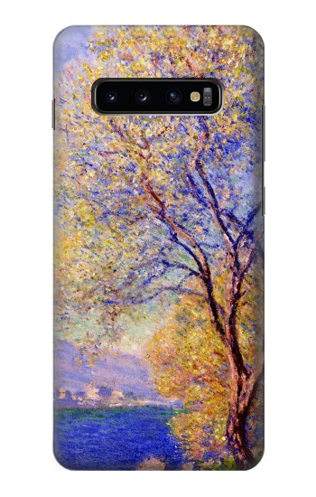 Printed Claude Monet Antibes Seen from the Salis Gardens Samsung  Galaxy S10 Plus Case