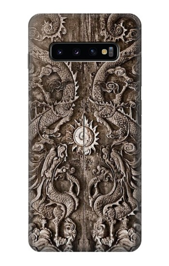 Printed Dragon Door Samsung  Galaxy S10 Plus Case