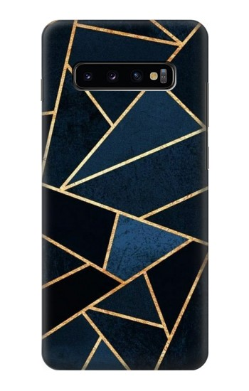 Printed Navy Blue Graphic Art Samsung  Galaxy S10 Plus Case