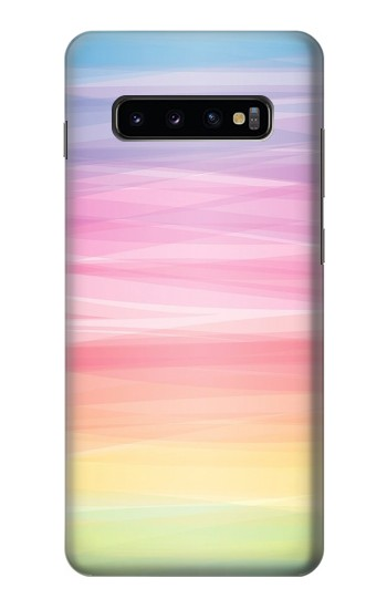 Printed Colorful Rainbow Pastel Samsung  Galaxy S10 Plus Case