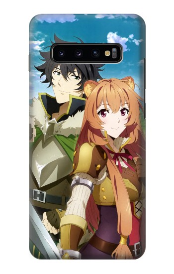Printed Shield Hero Naofumi Raphtalia Samsung  Galaxy S10 Plus Case