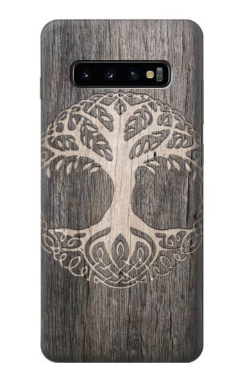 Printed Viking Tree of Life Symbol Samsung  Galaxy S10 Plus Case