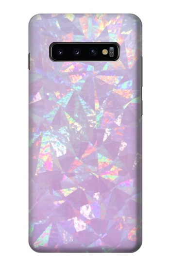 Printed Iridescent Holographic Photo Printed Samsung  Galaxy S10 Plus Case
