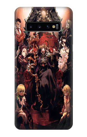 Printed Overlord Ainz Ooal Gown Samsung  Galaxy S10 Plus Case