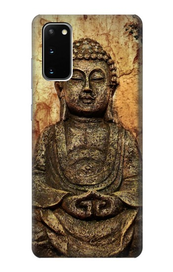 Printed Buddha Rock Carving Samsung Galaxy S20 Case