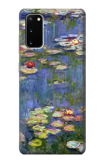 Printed Claude Monet Water Lilies Samsung Galaxy S20 Case