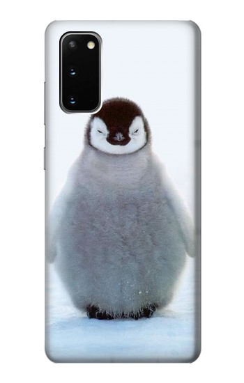 Printed Penguin Ice Samsung Galaxy S20 Case