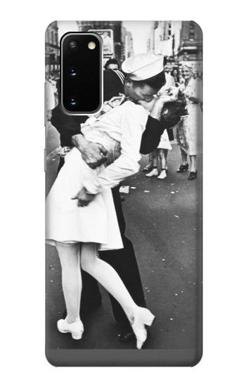Printed The Famous Kiss Samsung Galaxy S20 Case
