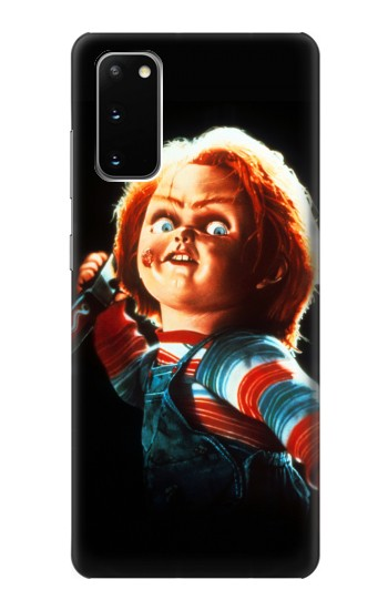 Printed Chucky With Knife Samsung Galaxy S20 Case