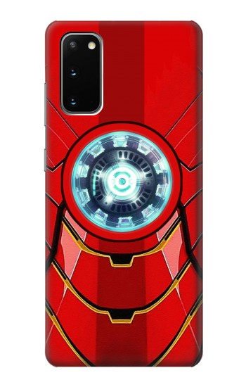 Printed Ironman Armor Arc Reactor Graphic Printed Samsung Galaxy S20 Case