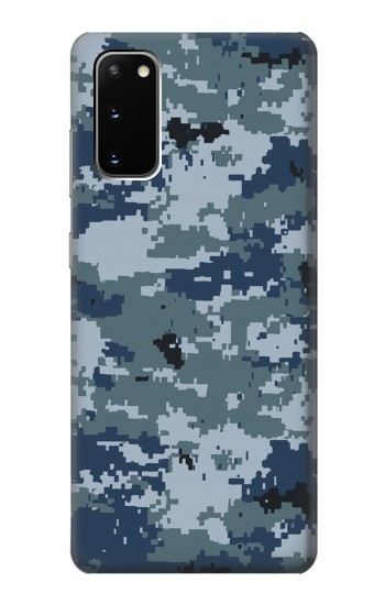 Printed Navy Camo Camouflage Graphic Samsung Galaxy S20 Case