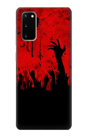 Printed Zombie Hands Samsung Galaxy S20 Case