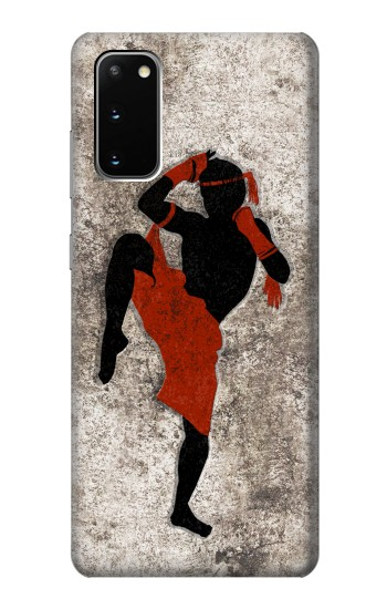 Printed Muay Thai Fight Boxing Samsung Galaxy S20 Case