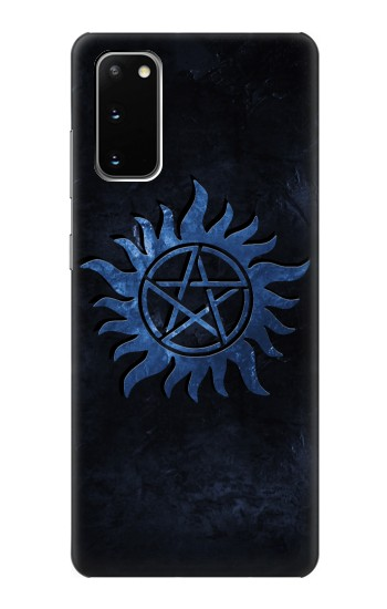 Printed Supernatural Anti Possession Symbol Samsung Galaxy S20 Case