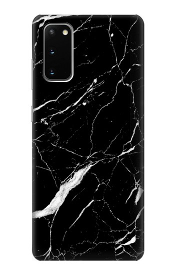 Printed Black Marble Graphic Printed Samsung Galaxy S20 Case